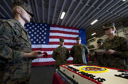 birthday-cake . Photo from Military.com